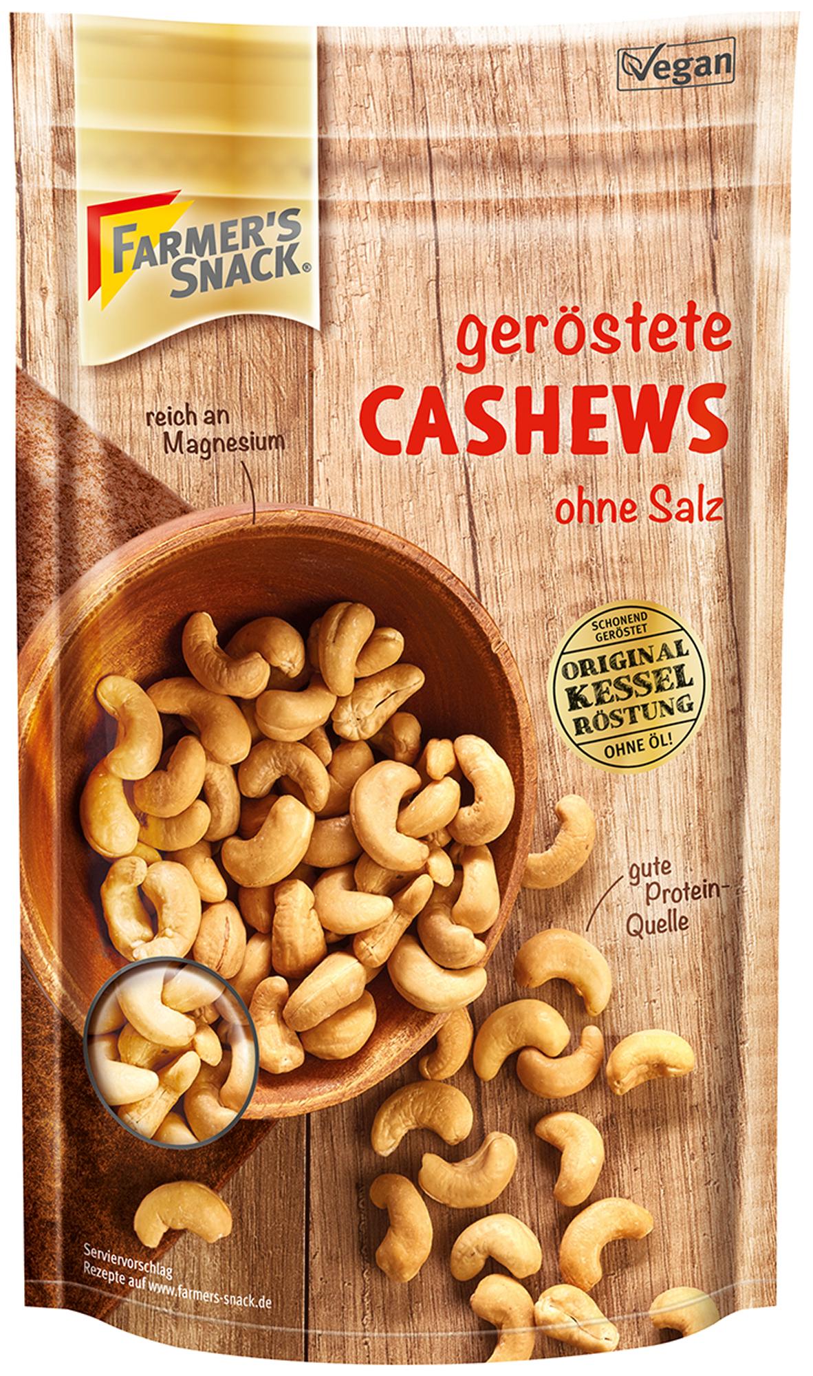 Cashew geröstet<br>(FARMER'S SNACK)