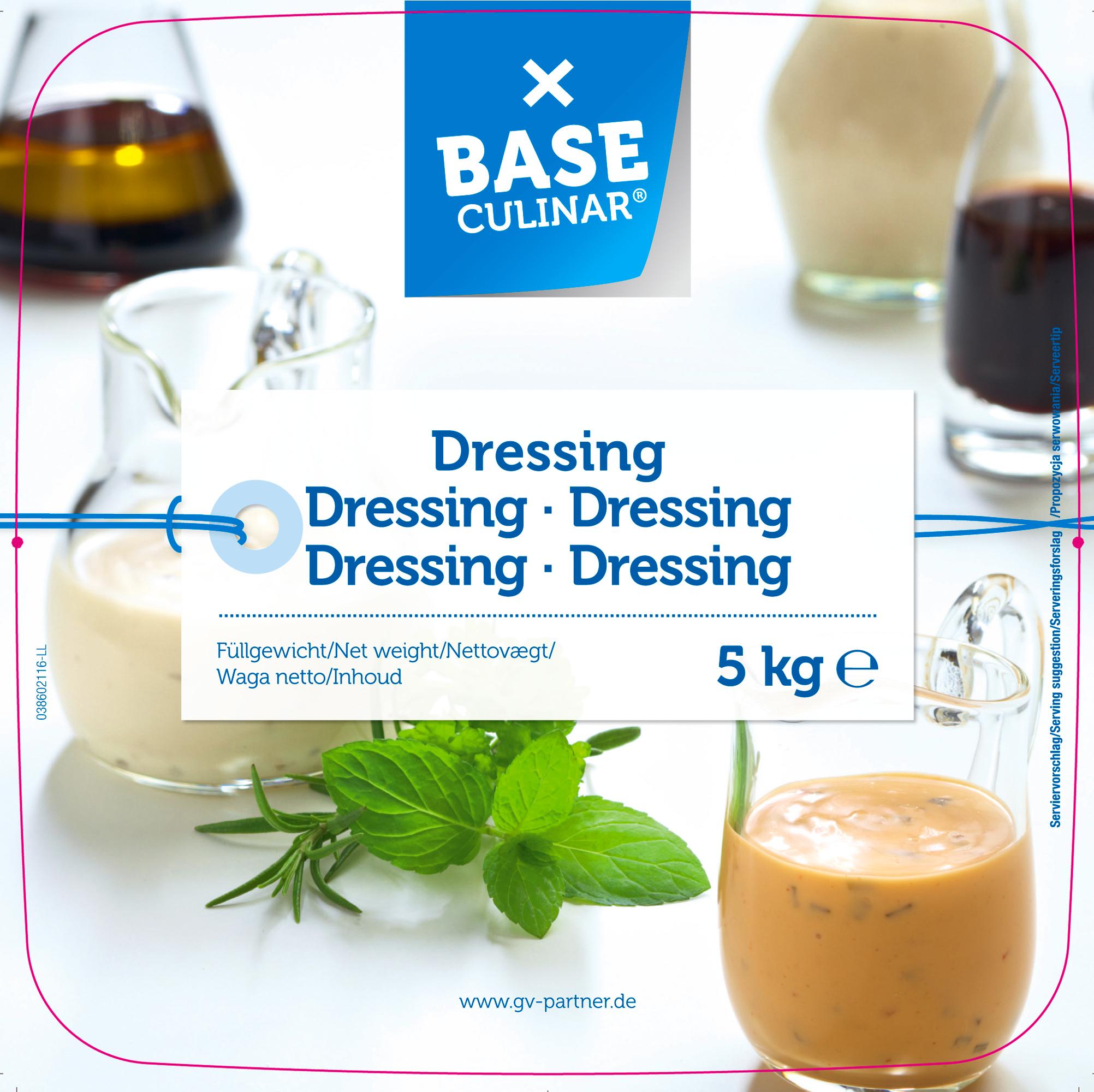 Dressing <br>(BASE)