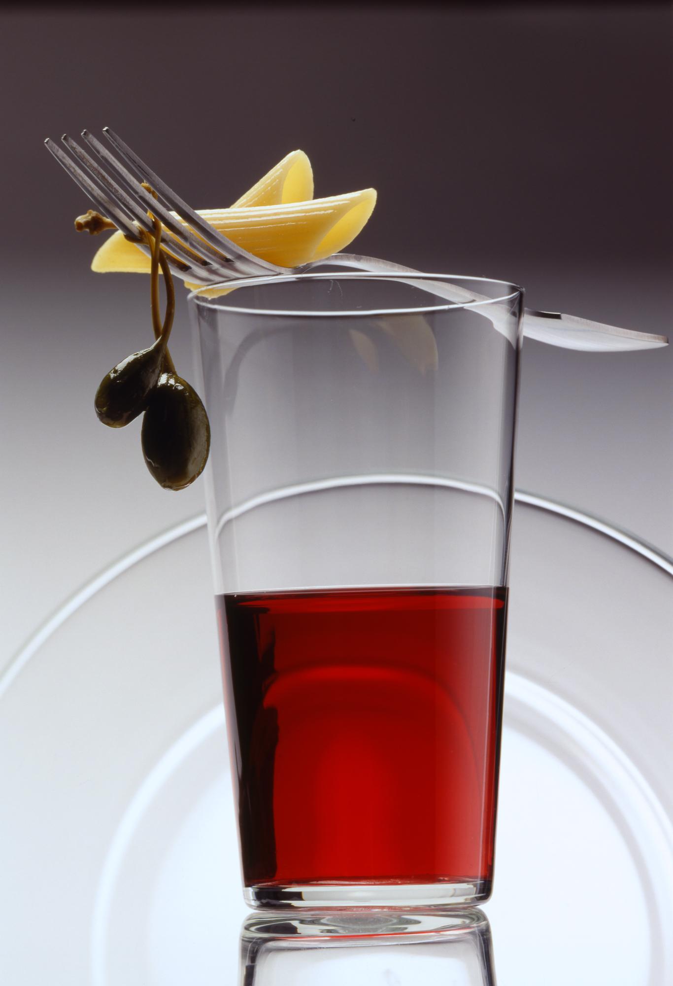 Glas Nudel Olive 1