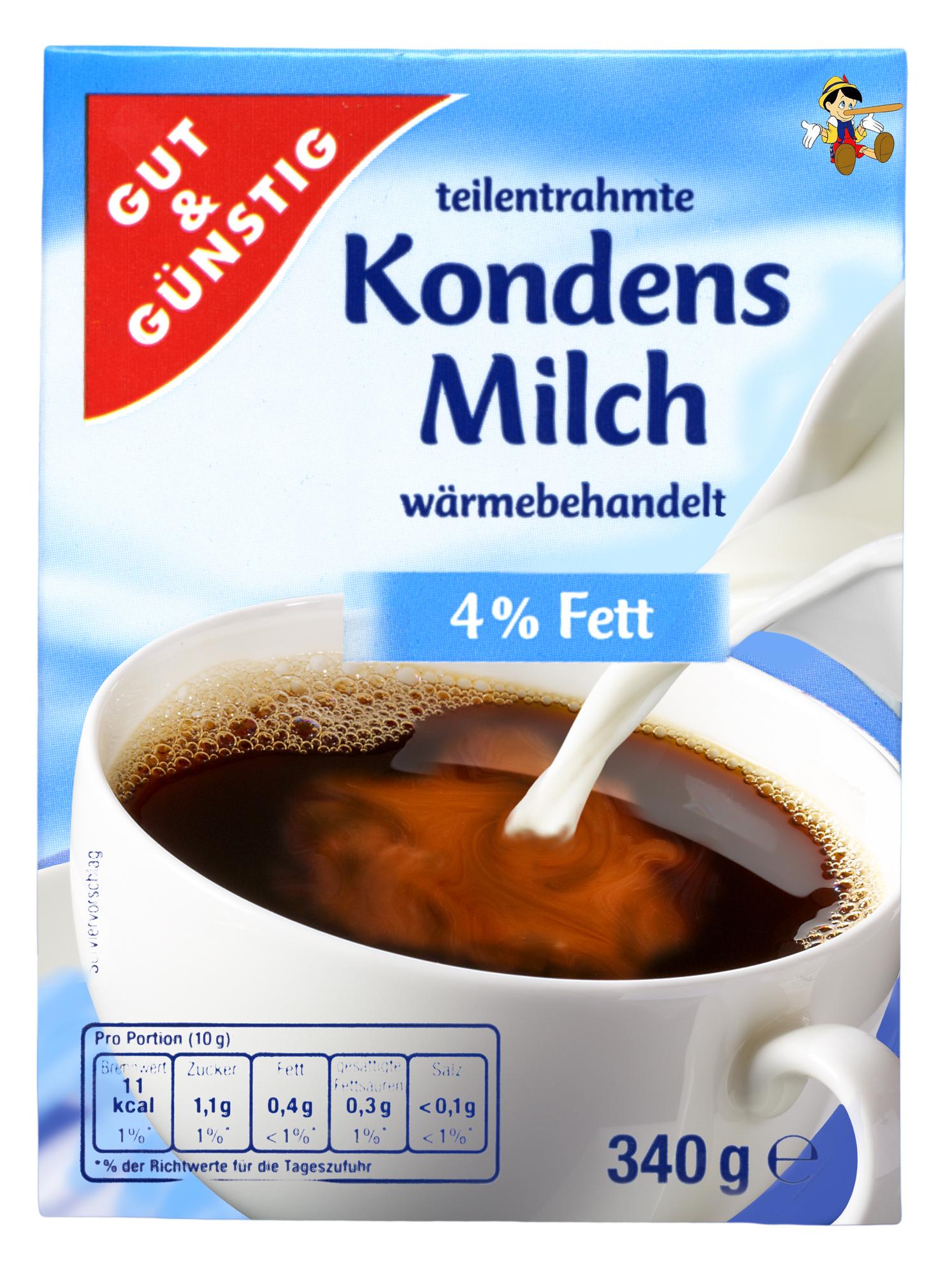 Kondensmilch<br>(gut und günstig)